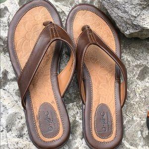 b.o.c leather sandals